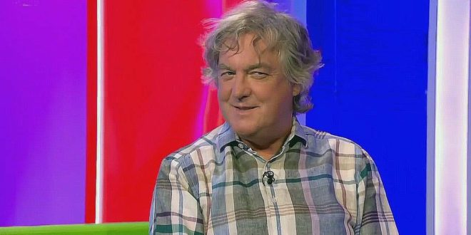 """The Grand Tour INTERVIEWS James May: """"Season 2 starts in October""""."""