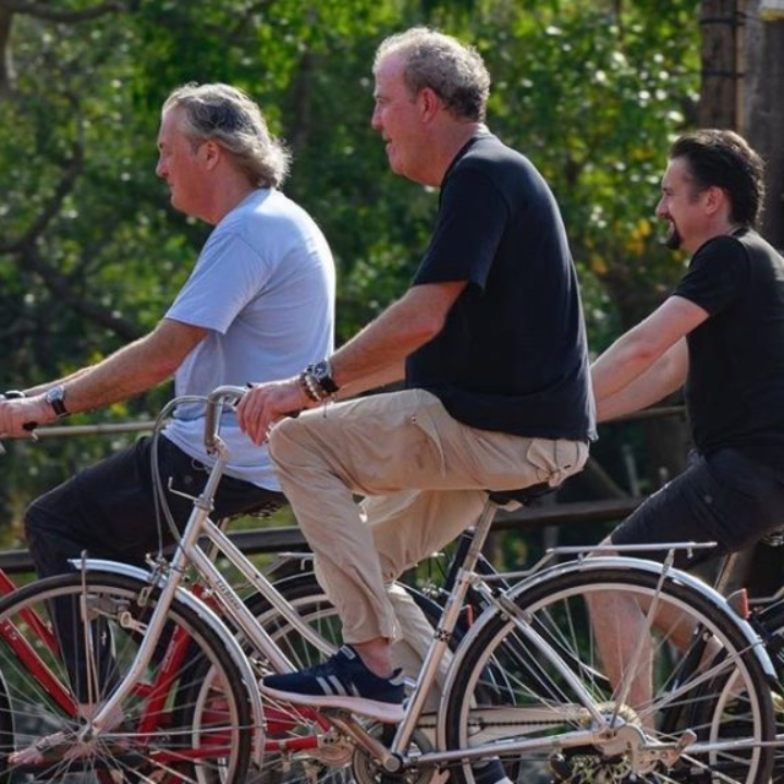 The Grand Tour Filming in Cambodia