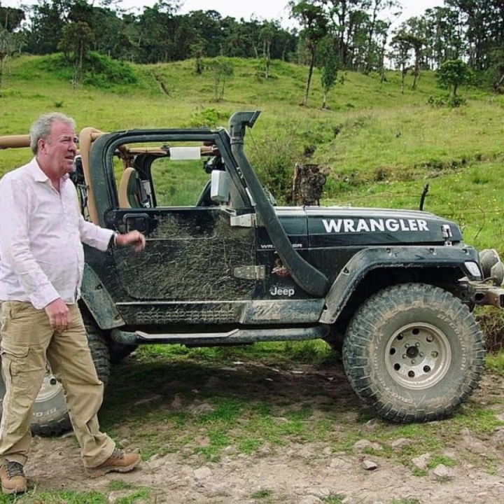 Jeep Wrangler form Colombia Special