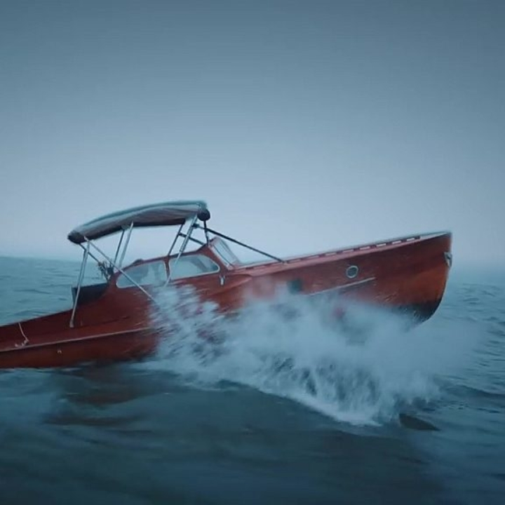 The Grand Tour James May in his wooden river boat