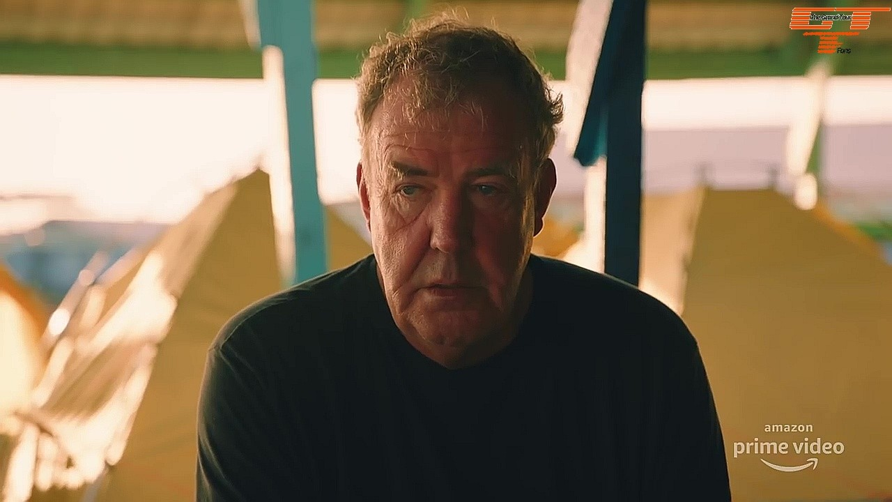 The Grand Tour Jeremy Clarkson looks disappointed