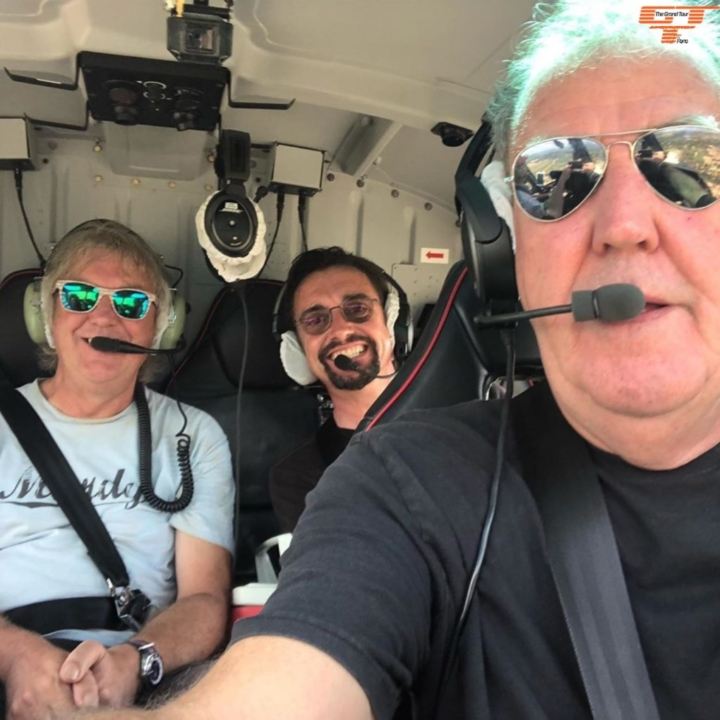 Clarkson, Hammond and May in a Helicopter