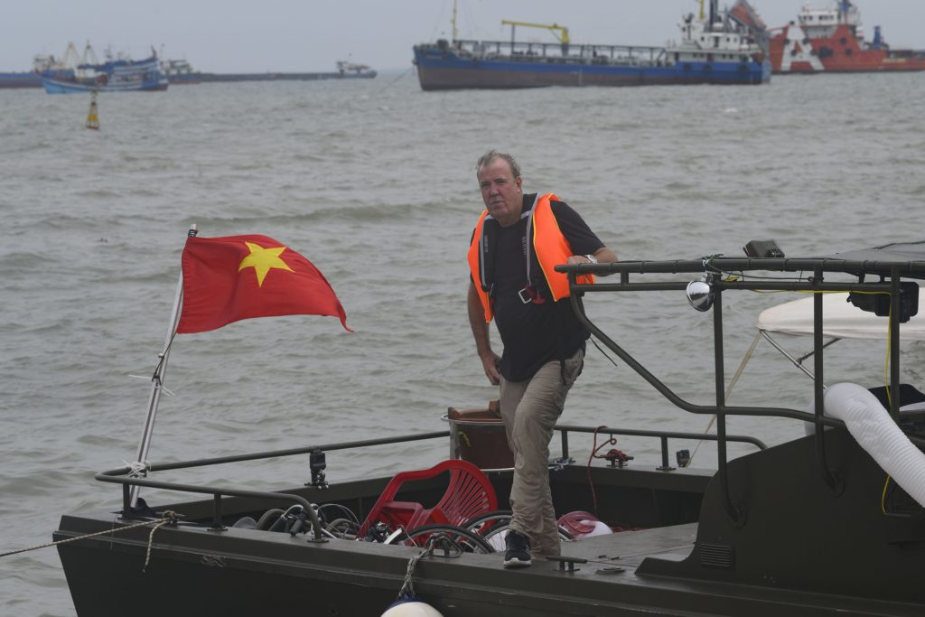 Andy Wilman on Jeremy´s Boat