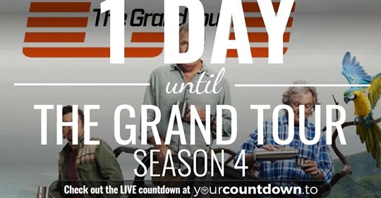 The Grand Tour Premiere coming soon….