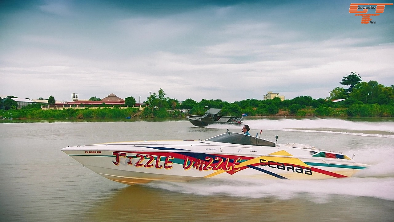Wellcraft Powerboat with Richard Hammond