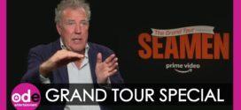 "The Grand Tour hosts talk about ""Seamen""."