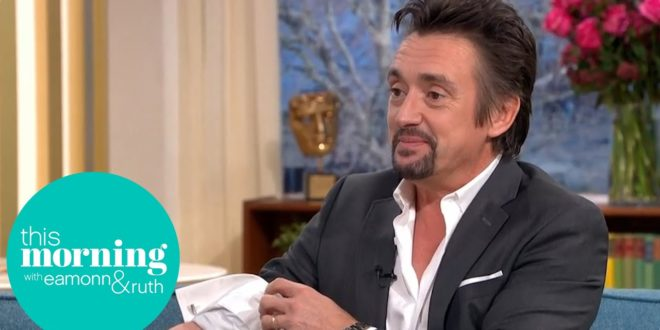 Richard Hammond Reveals his 50th Birthday Tattoo for the First Time